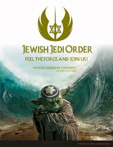 Master Yoda Epic Split. Jewish Jedi Order facebook hirdetés grafikai tervezése.