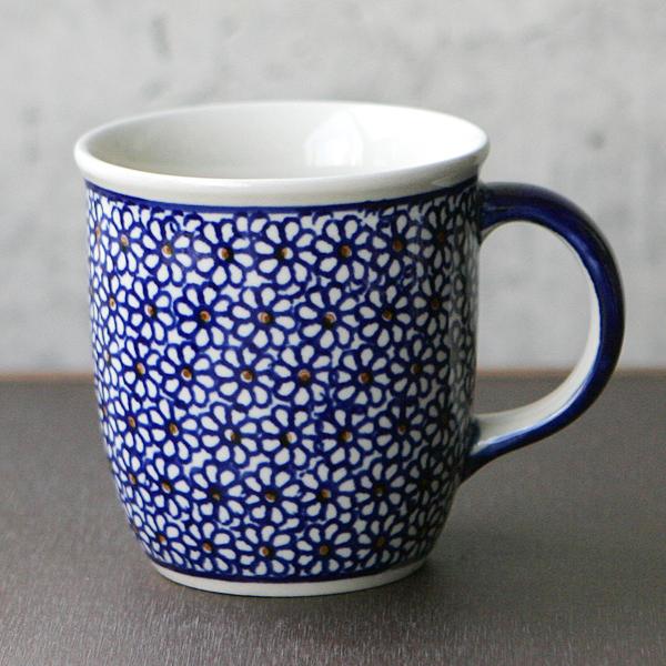 ポーランド製花柄マグカップ