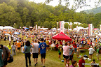 The main race/festival area.