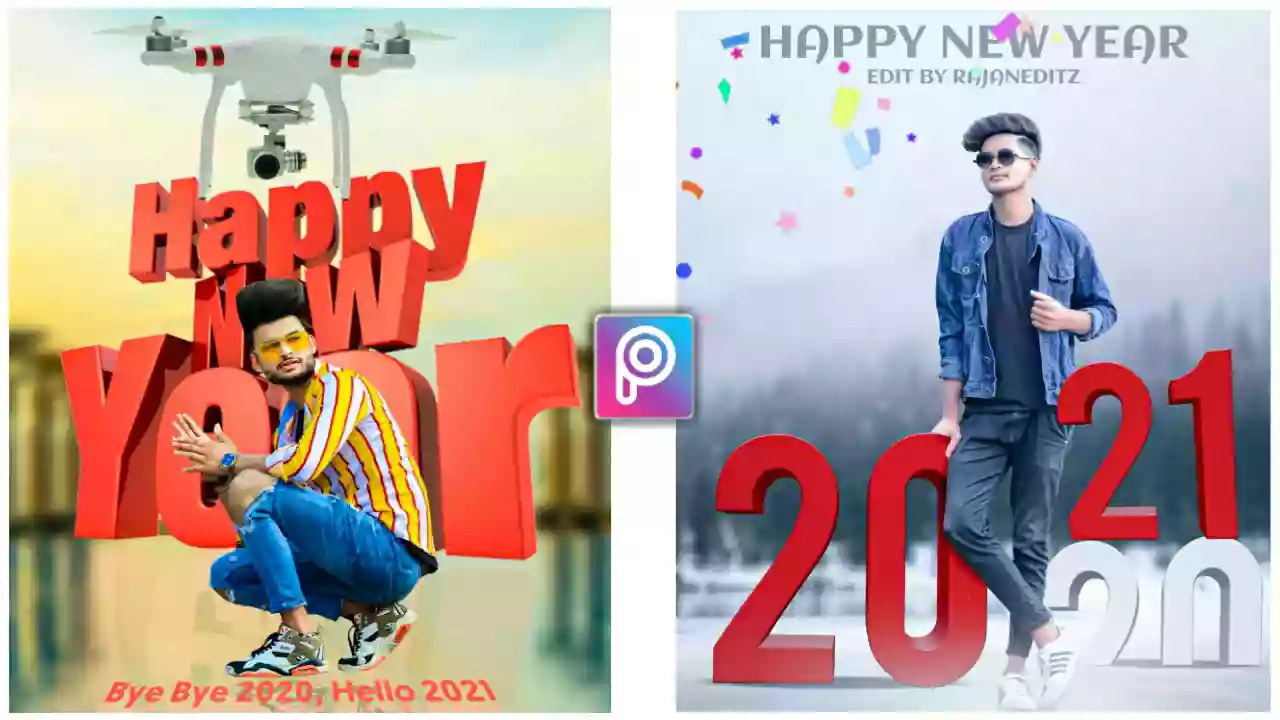 Happy New Year 2021 Picsart Editing Tutorial Viral New Year Background Now Rtworld Android phones are better equipped and better camera, to the extent that it is almost out of use digital cameras. happy new year 2021 picsart editing
