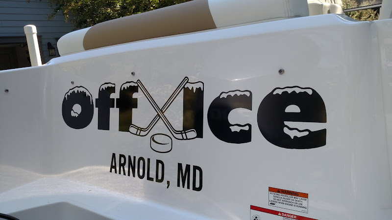 Creative Boat Lettering - Off Ice