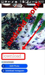 Cara mendownload foto dan vidio di instagram
