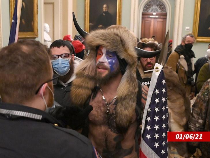 US Capitol Riot: QAnon Shaman pleads guilty to felony