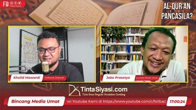 Jurnalis: TWK KPK Pilih Al-Qur'an atau Pancasila Bersifat Sekuler