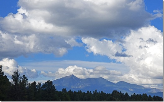 San Francisco Mountains near Flagstaff