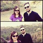 Christian and I at Bronson Canyon.