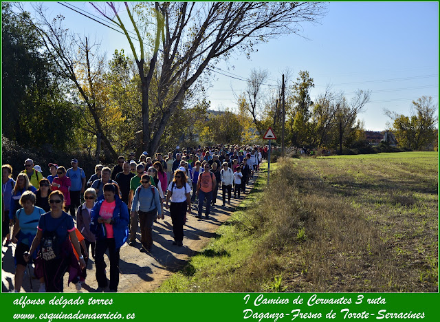 I Camino de Cervantes, ruta 3