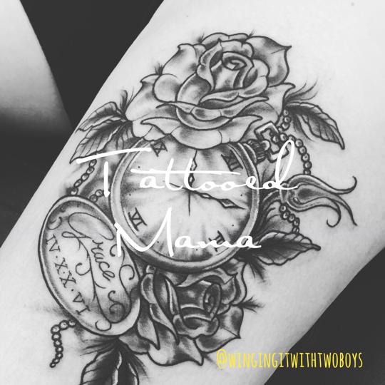 Tattooed Mama Sara From The Fish Finger Mum Winging It