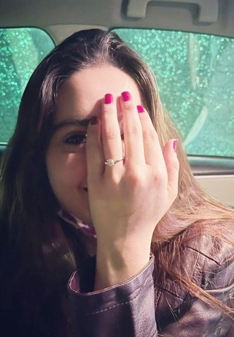Jalan Starrer Minal Khan and Ahsan Mohsin got Engaged On Valentine Day