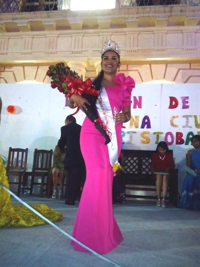 Habemus Reina electa, digna representante del barrio de Mexicanos.