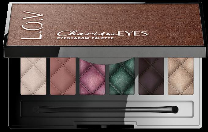 L_O_V CharismEYES eyeshadow palette 100_open