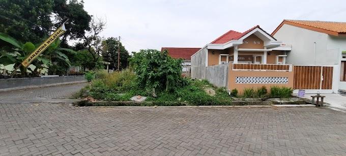 Tanah Hook Istimewa strategis Kawasan Cluster Seputar Plaosan Kampung Flory Tlogoadi Mlati