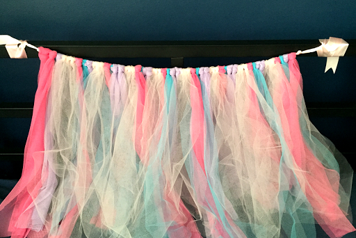 tulle tying made easy