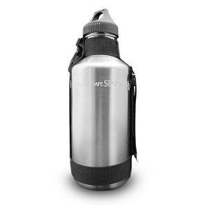 New Wave Enviro 40oz Stainless Steel Water Bottle with Strap - image