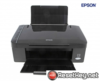 Reset Epson SX117 printer Waste Ink Pads Counter