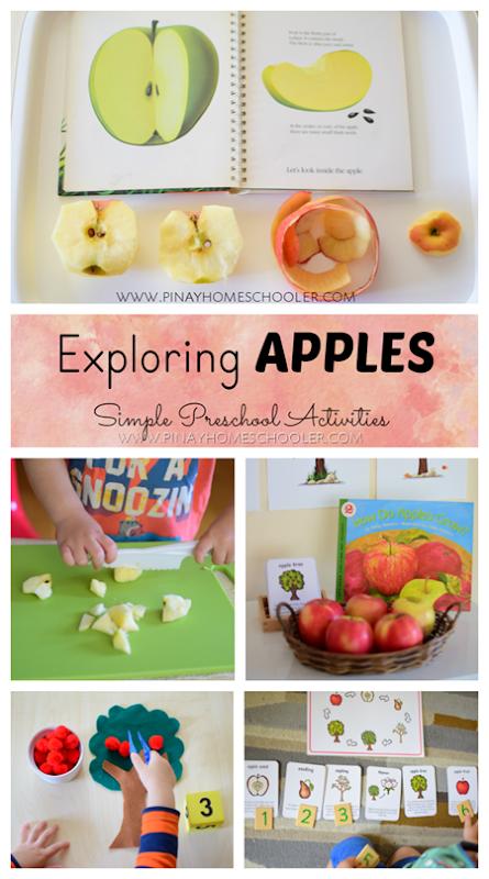 Apple Activities Montessori