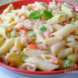 Garlic White Sauce Pasta Recipes.