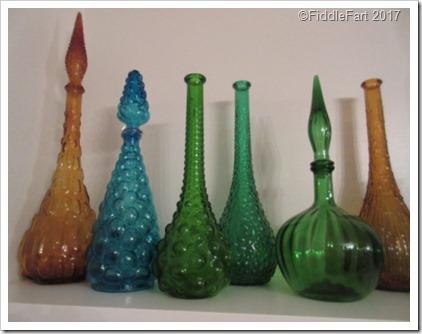 60's Retro Genie Bottles