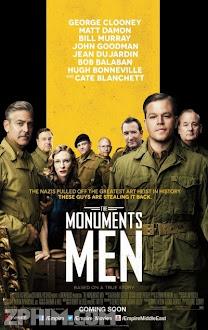 Kho Báu Bị Đánh Cắp - The Monuments Men (2014) Poster