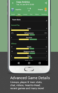 All Goals - The Livescore App- screenshot thumbnail
