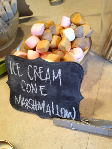 flavored marshamallows, Gourmet smore party