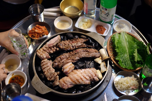 Korean food modesto