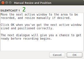 Como grabar vídeo en gif en Ubuntu y derivados - silentcast imagen 4