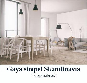 Gaya Simpel Skandinavia