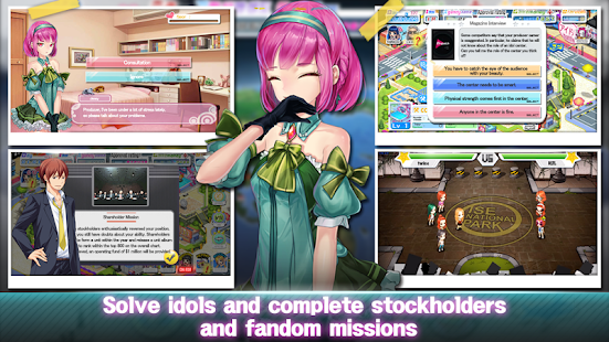 Game Girl Group Inc : Love Kpop Idol APK for Windows Phone