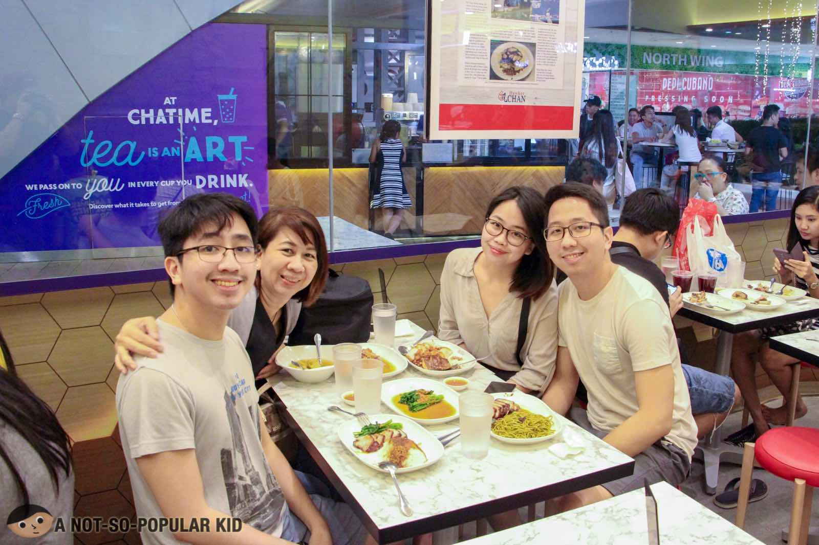 Renz Cheng in Hawker Chan, Mall of Asia