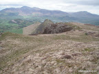 Below summit of Maiden Moor, looking towards Catbells