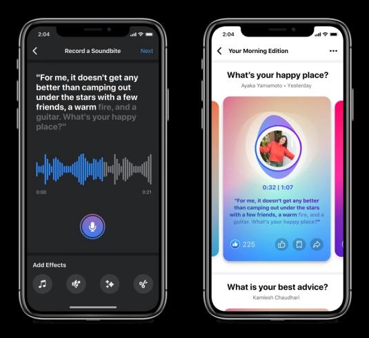 Soundbites: A New Social Audio Format