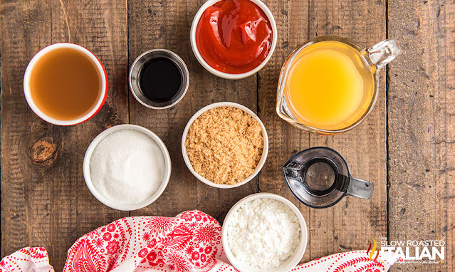 sweet and sour recipe ingredients