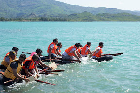 Build-A-Raft: Team-3 (L) and Team-2 (R)