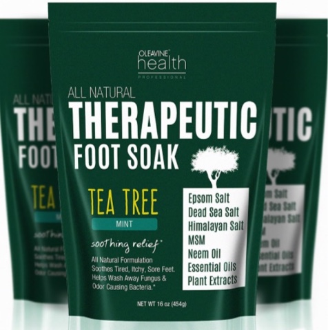 7b55e4ecba38 I received this in exchange for an honest review. This foot soak is nice  because it has Tea Tree oil in it