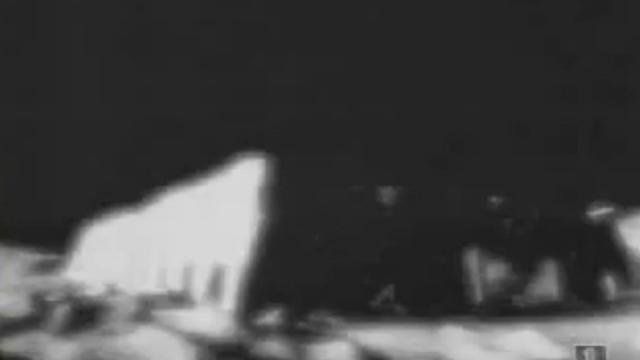 Snapshot taken from a secret NASA video on the Moon.