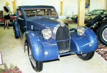 Bugatti 57 coach Ventoux 1937
