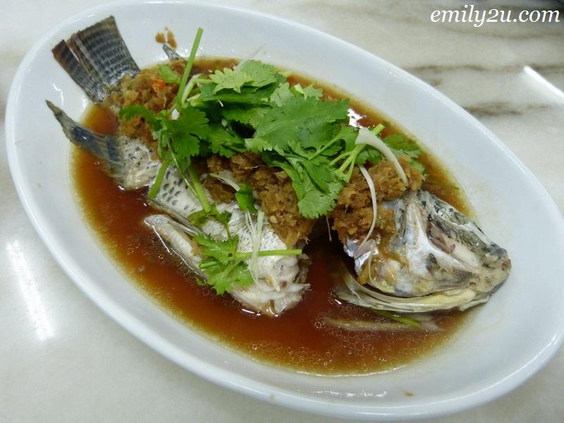 Rawang Famous Steam Fish Ipoh