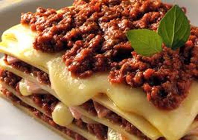 Receita de lasanha de carne moída