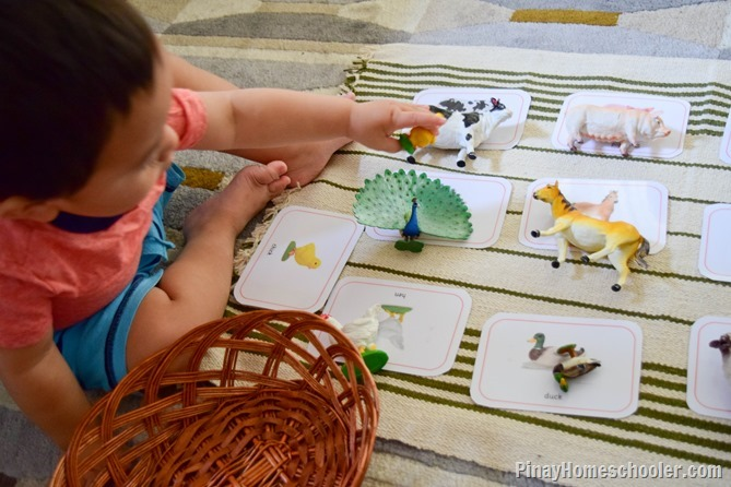 FREE Farm Animals Matching cards | The Pinay Homeschooler
