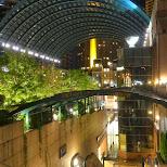 Ebisu garden place by night in Shibuya, Tokyo, Japan