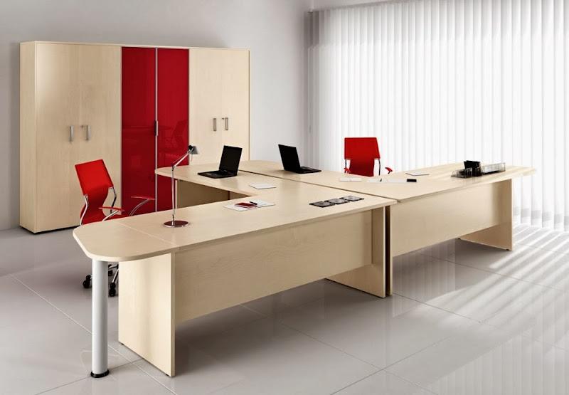 Scrivania Ufficio Angolo : Doppia scrivania per ufficio caseificiovaltidone