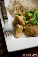(Kurczak w sosie z czarnego pieprzu