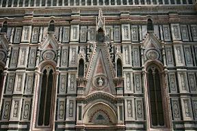 Upper facade, Duomo, Florence