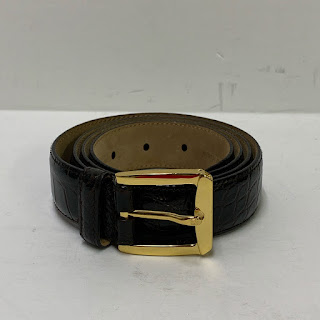 Bally NEW Alligator Belt