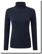 Pure Collection cashmere roll neck