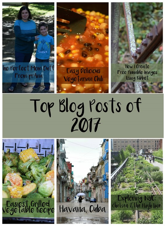 Top Blog Posts of 2017