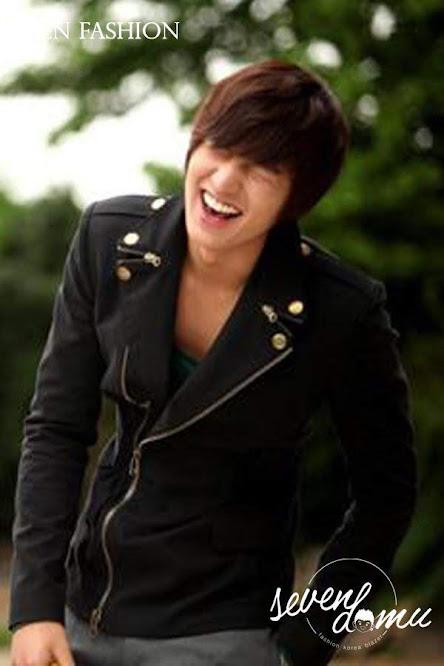seven domu jacket korea double zipper sk08