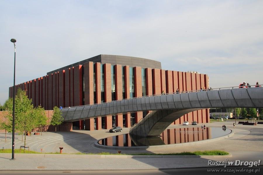 Katowice Nowe Centrum Kultury - budynek NOSPR