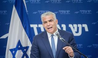 Yair Lapid vai lutar contra o bloqueio total